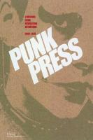 Punk press de Vincent BERNIERE, Mariel PRIMOIS (LA MARTINIERE)