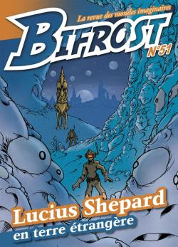 Bifrost n° 51 de Olivier GIRARD, Lucius SHEPARD, Jean-Daniel BRÈQUE, Olivier JUBO, Thomas DAY, Pierre STOLZE, Patrick IMBERT, Alain SPRAUEL, Frédéric JACCAUD, George SAND, Jules VERNE, Roland LEHOUCQ,  ORG