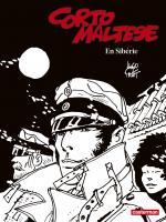 Corto Maltese en noir et blanc relié - En Sibérie de Hugo PRATT (Casterman)