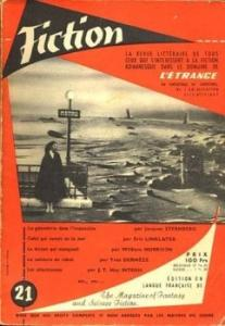 Fiction n° 21 de Eric LINKLATER, William MORRISON, Thelma D. HAMM, Yves DERMEZE, Mack REYNOLDS, J. T. MacINTOSH, Jacques STERNBERG, Jean-Jacques BRIDENNE, F. HODA (Fiction)