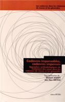 Cadavres impensables, cadavres impensés : Approches méthodologiques du traitement des corps dans les violences de masse et les génocides