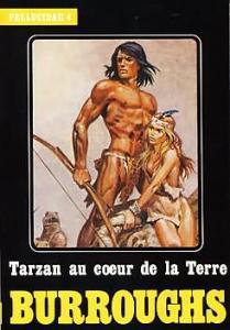 Tarzan au coeur de la Terre de Edgar Rice BURROUGHS (Heroic fantasy)