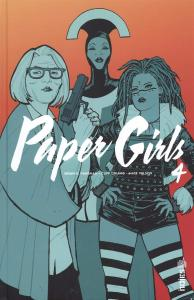 Paper Girls Tome 4 de Brian K. VAUGHAN (Urban indies)