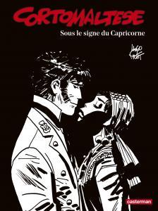 Corto Maltese en noir et blanc relié - Sous le signe du Capricorne de Hugo PRATT (Casterman)