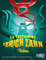 Le Testament d'Erich Zann, suivi de La Fille de Valdemar de Brian  STABLEFORD (Les Saisons de l'étrange)