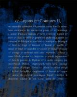 & Leçons & Coutures II