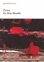 Ecrire les Yeux Bandés