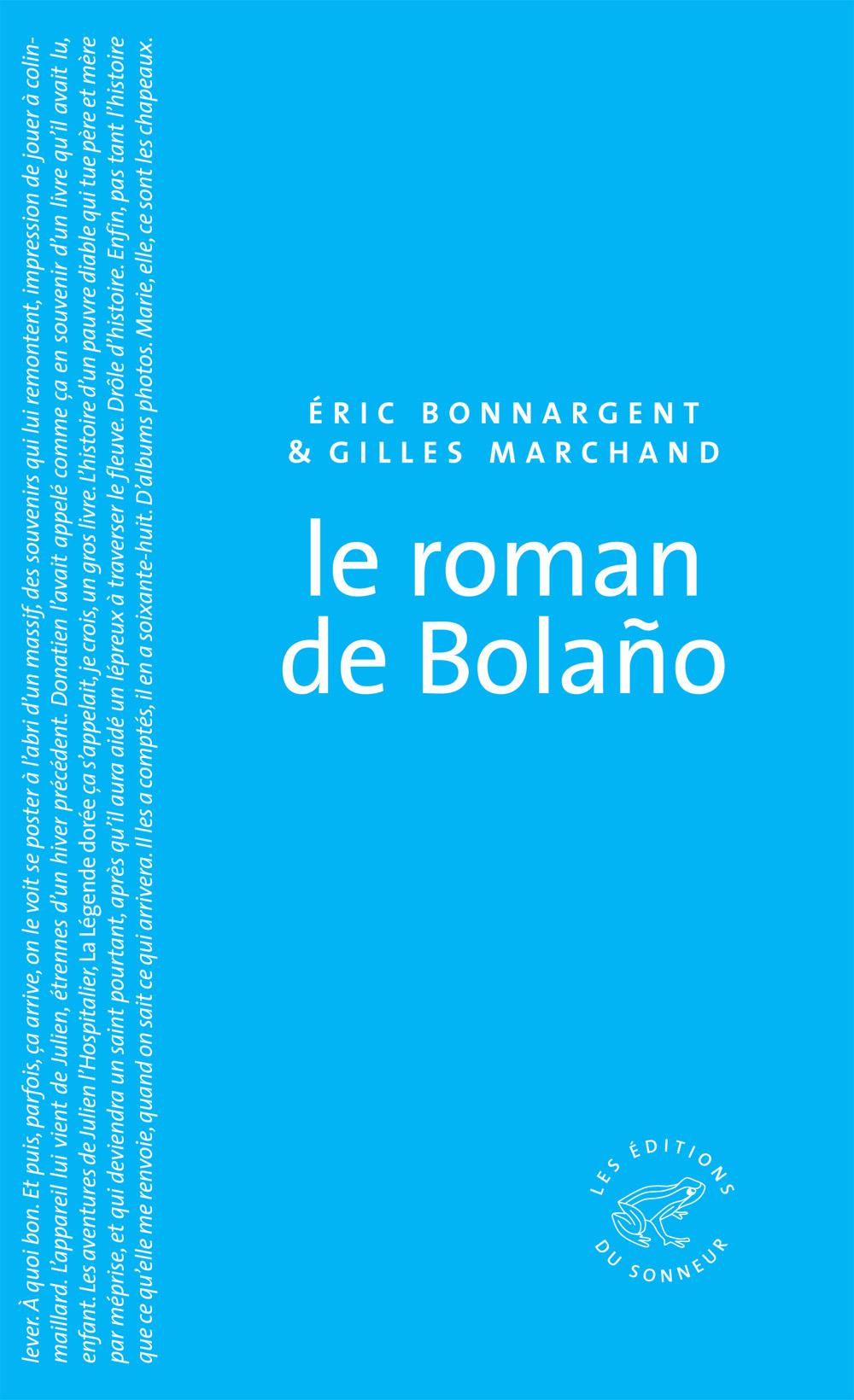 Le Roman de Bolaño