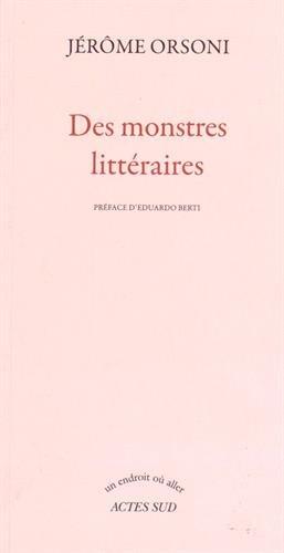 Des monstres littéraires