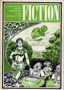 Fiction n° 201 de Dean R. KOONTZ, Brian ALDISS, Jack VANCE, Robert BLOCH, Barry N. MALZBERG, Jacques CHAMBON, Jean-Pierre FONTANA, Alain GARSAULT (Fiction)