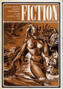Fiction n° 202 de Robert BLOCH, Harlan ELLISON, Edgar PANGBORN, Philippe  CURVAL, Otis Kidwell BURGER, Barry N. MALZBERG, Jean-Pierre ANDREVON (Fiction)