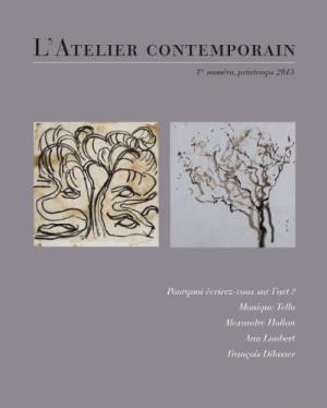 L'Atelier contemporain, n°1