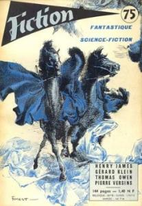 Fiction n° 75 de Edward S. AARONS, Howard FAST, Robert ARTHUR, Robert ANTON, Lincoln J. PAINE, J. T. MacINTOSH, Pierre VERSINS, Henry JAMES, Arthur Bertram CHANDLER, Thomas OWEN (Fiction)