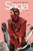 Saga tome 2 de Brian K. VAUGHAN, Fiona STAPLES (Urban indies)