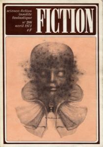 Fiction n° 208 de Fritz LEIBER, Harlan ELLISON, Daniel WALTHER, Bruce McALLISTER, Jean-Pierre ANDREVON, Alain GARSAULT (Fiction)