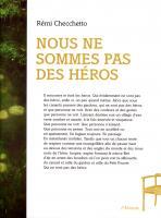 Nous ne sommes pas des héros