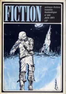 Fiction n° 210 de Frank HERBERT, Theodore STURGEON, Jean-Pierre ANDREVON, Arthur Charles CLARKE, Joanna RUSS, Jacques CHAMBON, Jacques GOIMARD (Fiction)