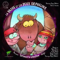 La vache et les deux orphelins, conte kabyle, livre+CD