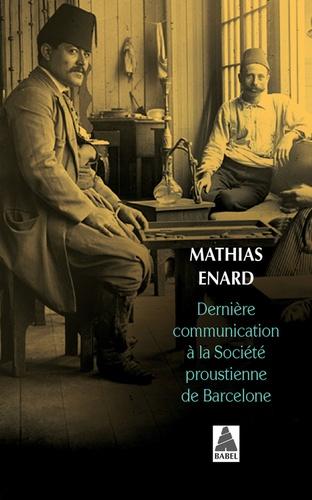 Dernière communication à la Société Proustienne de Barcelone
