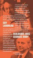 Dialogues avec Georges Duby.