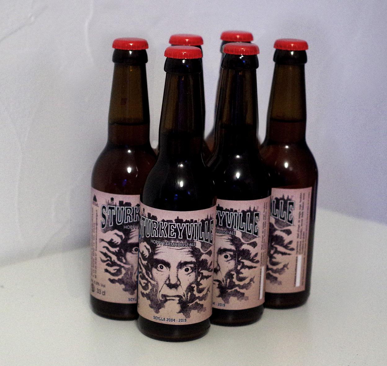 """Six-pack de bière """"La Sturkeyville"""" (6x33cl)"""