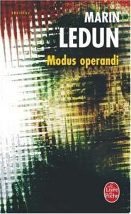 Modus operandi de Marin LEDUN (Livre de poche Thrillers)