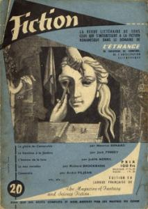 Fiction n° 20 de Maurice RENARD, Margot BENNETT, Jack FINNEY, André PILJEAN, Richard BROOKBANK, Judith MERRIL, T. P. CARAVAN, Jean-Jacques BRIDENNE, F. HODA (Fiction)