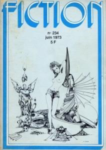 Fiction n° 234 de Anne McCAFFREY, Michael G. CONEY, Jean-Pierre ANDREVON, Piers ANTHONY, John CHRISTOPHER, Barry N. MALZBERG, Gene WOLFE, Daniel WALTHER, Jean-Patrick EBSTEIN (Fiction)