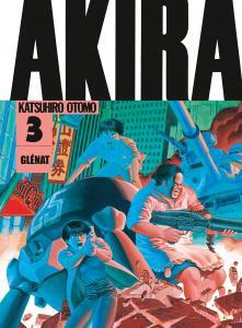 Akira (Noir et blanc) - Édition originale Vol.03 de Katsuhiro OTOMO (GLENAT)