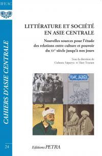 Littérature et société en Asie centrale