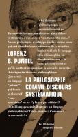 La philosophie comme discours systématique : Dialogue avec Emmanuel Tourpe sur les fondements d'une théorie des étants, de l'Etre et de l'Absolu
