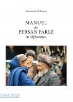 Manuel de persan parlé en Afghanistan (Livre + 1 CD mp3)