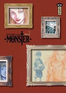 Monster Intégrale Deluxe, tome 2 de Naoki URASAWA (Big Kana)