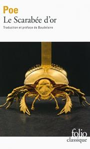 Le Scarabée d'or de Edgar Allan POE (Folio Classique)