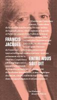 Entre nous soit dit : Dialogue avec Françoise Armengaud et Philippe Capelle-Dumont