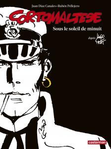 Corto Maltese en noir et blanc relié - Sous le soleil de minuit de Juan DIAZ CANALES (Casterman)