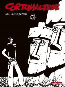 Corto Maltese en noir et blanc relié - Mû, la cité perdue de Hugo PRATT (Casterman)