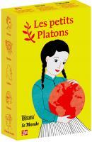 Coffret jaune 5 petits Platons : Socrate est amoureux, Épictète, Leibniz, Einstein,  Hannah Arendt