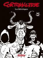 Corto Maltese en noir et blanc relié - Les Helvétiques de Hugo PRATT (Casterman)