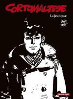Corto Maltese en noir et blanc relié - La Jeunesse de Hugo PRATT (Casterman)