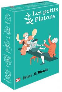 Coffret vert 5 petits Platons (Diogène - Pascal - Rousseau - Marx - Heidegger)