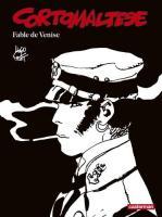 Corto Maltese en noir et blanc relié - Fable de Venise de Hugo PRATT (Casterman)