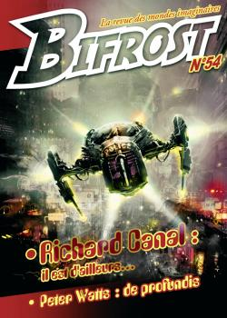 Bifrost n° 54 de Olivier GIRARD, Peter WATTS, Richard  CANAL, Thomas DAY, Richard COMBALLOT, Frédéric JACCAUD, Roland LEHOUCQ,  ORG