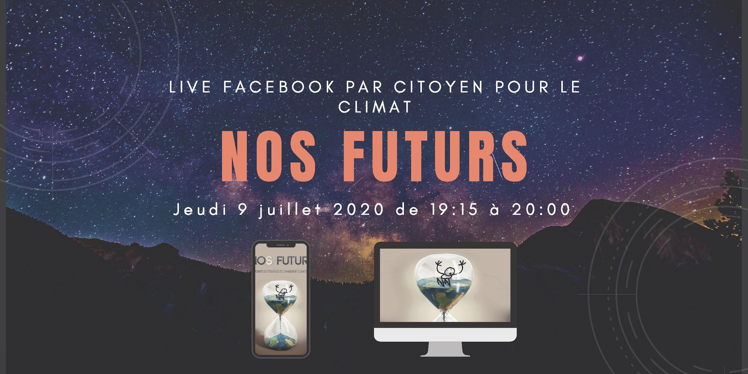 Jeudi 9 juillet 2020 de 19:15 à 20:00 UTC+02