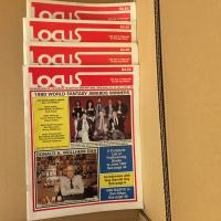Lot revue Locus (4 numéros de 1989/1990) de  COLLECTIF (LOCUS MAGAZINE)