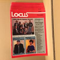 Lot revue Locus (11 numéros de 1992) de  COLLECTIF (LOCUS MAGAZINE)