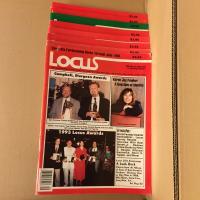 Lot revue Locus (8 numéros de 1993) de  COLLECTIF (LOCUS MAGAZINE)