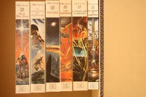 Lot Les Chroniques d'Arcturus (6 premiers volumes) de Gilles SERVAT (La Dentelle du Cygne)
