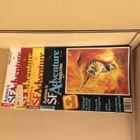Lot revue Asimov's SF Adventure (4 premiers numéros) de  COLLECTIF (Asimov\'s SF Adventure)
