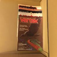 Lot revue Vertex (9 numéros de 1973 à 1975) de  COLLECTIF (Vertex)